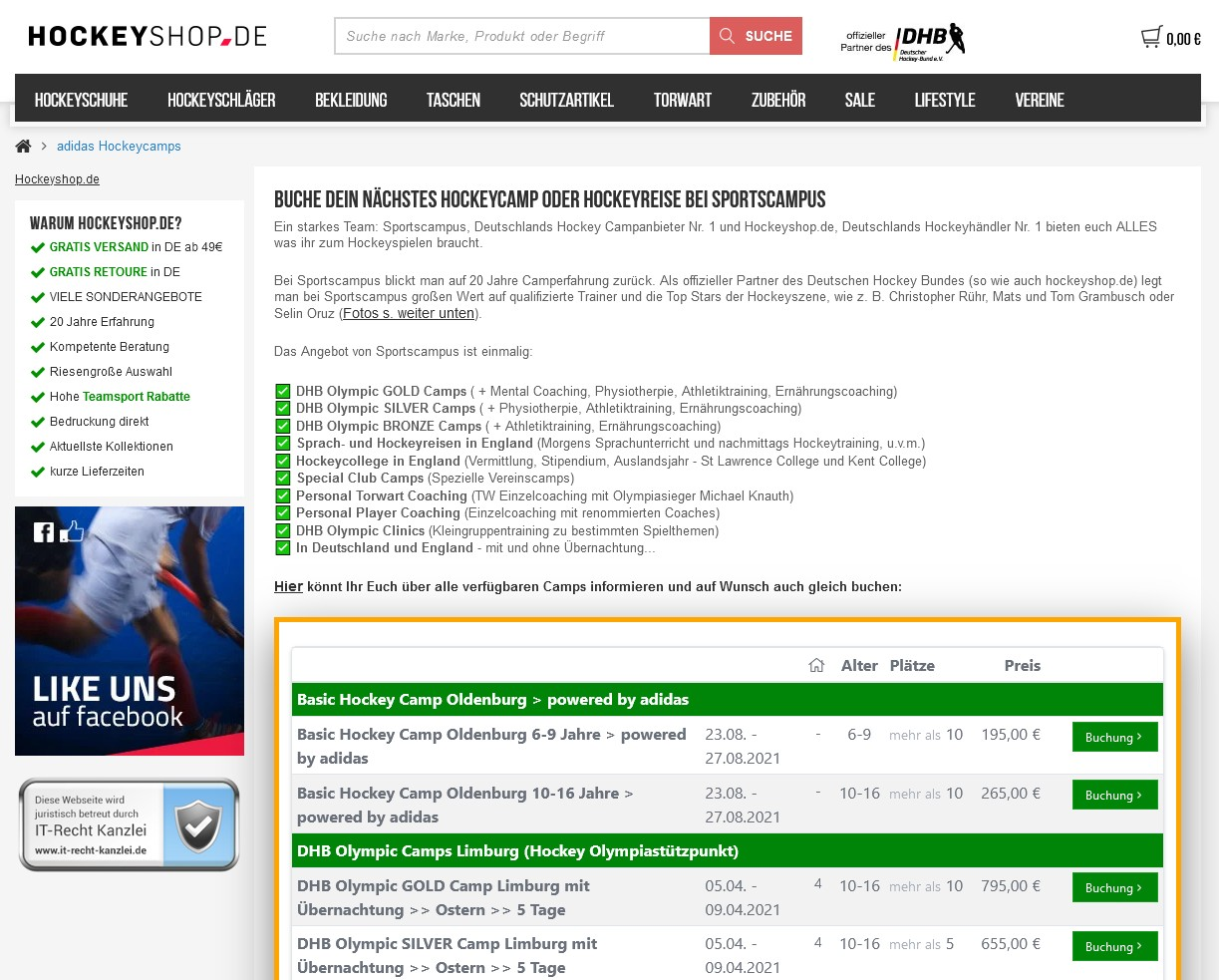 screenshot hockeyshop